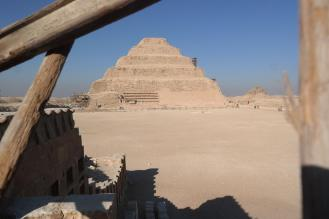 Sakkara, step pyramid of Djoser.