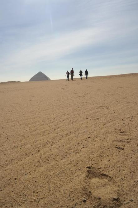 Dahschur, Bent Pyramid.