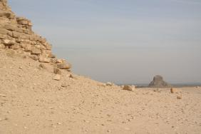Dahschur, Black Pyramid (right).