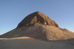 el Lahun, pyramid.