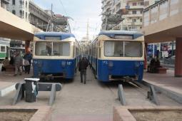 Alexandria, tram line.