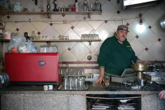 Alexandria, bar owner.