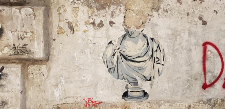 Roman Street Art.