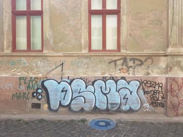 Cluj, old town.