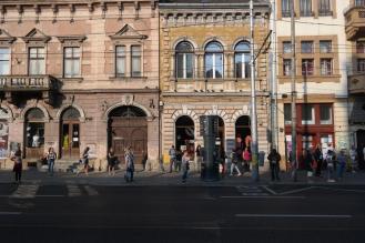 Cluj, around Piata-Avram-Iancu.