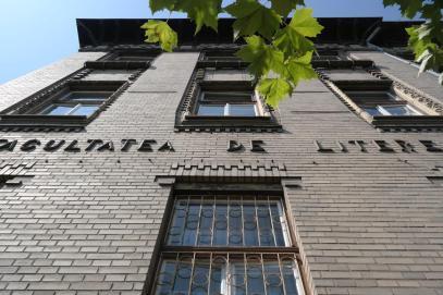 Strada Horea, Faculty for Literature.